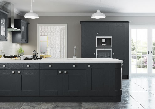 Marlow Painted Charcoal
