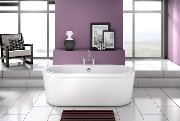 A03048 - Modern Freestanding Bath Image