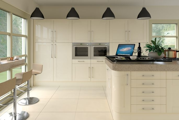 Ludlow Gloss Cream Kitchen