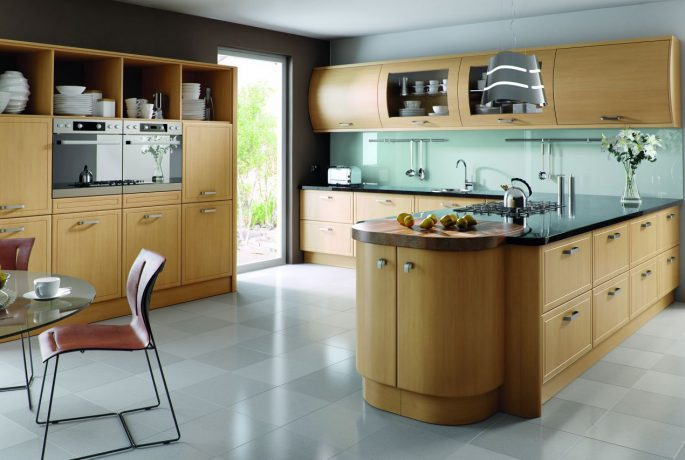 Natural Oak Euroline Kitchen