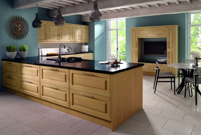 Steinberg Beech Tuscany Kitchen
